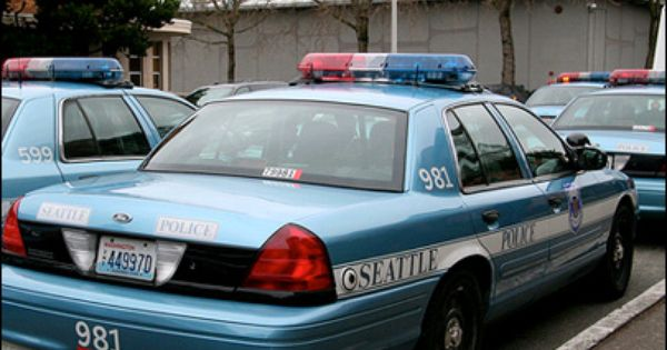 Seattle Police Ford Crown Vic Police Interceptor Police Cars