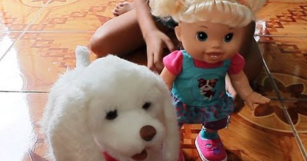 Baby Alive Doll And Furreal Friends Puppy My Walkin Pup Youtube Baby Alive Dolls Fur Real Friends Baby Alive