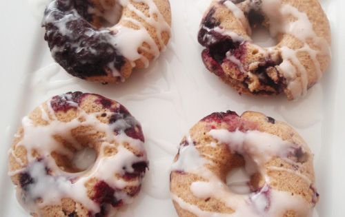 Weight Watchers Recipes Lemon Drizzle Cake: Baked Blueberry Doughnuts
