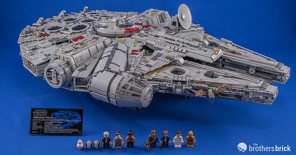 Hands On With The New Lego Star Wars 75192 Ucs Millennium Falcon Review Lego Star Wars Millennium Falcon Lego Lego
