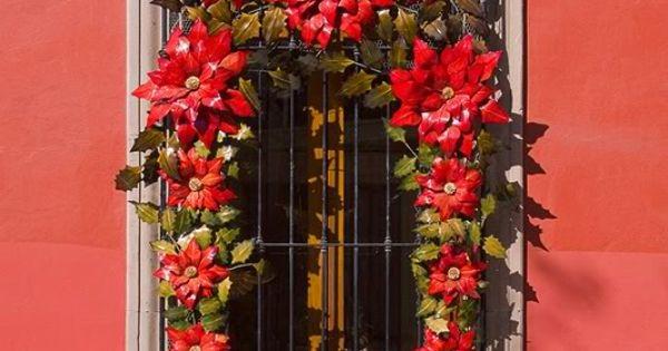 I Love Poinsettias Decoraciones Mexicanas Para Navidad