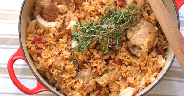 Jambalaya, Guns and Spicy on Pinterest