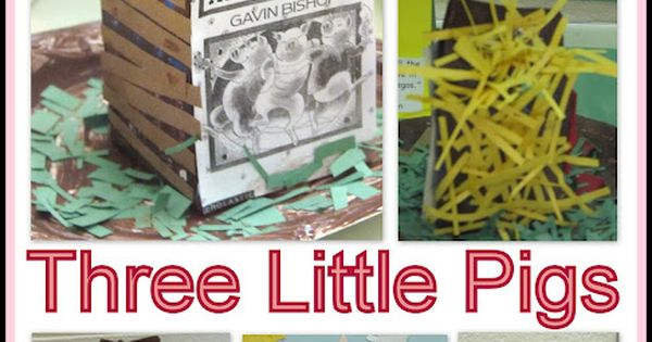 LOVE!!! Pigs RoundUP! Three Little Pigs: Nursery Rhymes Milk Carton Project Kinderchat