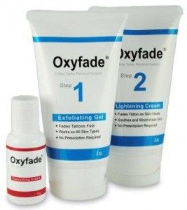 Oxyfade Kit Tattoo Cream Removal Perfect Tattoo Removal Solution