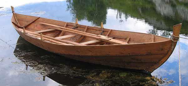 Faering Norse Rowing Boat Viking Ships Pinterest