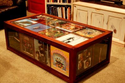 Vinyl Record Coffee Table Yes Woodworking Projects Jim Cardon