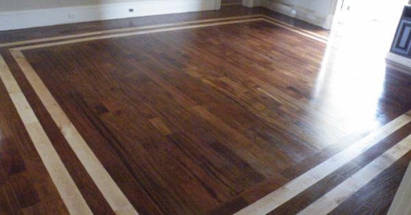 Brazilian Cherry Floors With Maple Borders M S C S Inc