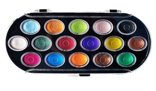 Niji Pearlescent Watercolor Set Paint By Yasutomo Michaels In