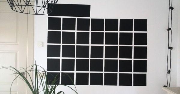 Calendario de pizarra para la pared works mis trabajos pinterest calendario de pizarra - Pizarra calendario ...