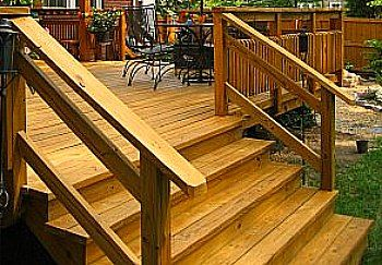 Best Deck Stair Design Outdoor Stair Railing Outdoor Stairs   Best Wood For Outdoor Steps   Stair Railing   Stair Treads   Handrail   Treated Lumber   Stair Stringer