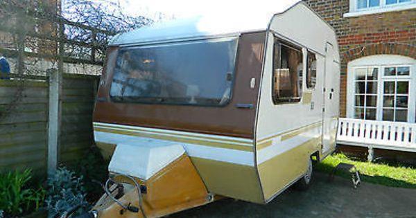 Vintage Retro 1980s Sprite Alpine 4 Berth Caravan Original Interior Awning Vintage Caravans Touring Caravan Retro Caravan