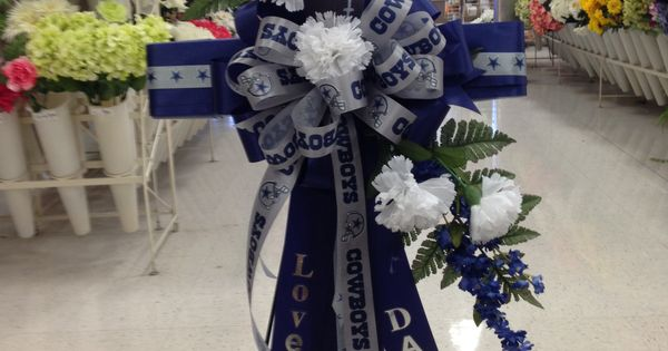 Dallas Cowboys Cross For Fathers Day My Florals