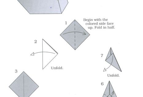 complex origami swan instructions