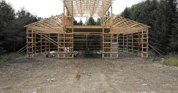 Plans To Build Monitor Pole Barn Kits PDF Plans