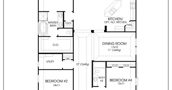 Mobile Perry Homes Floor Plans Pinterest