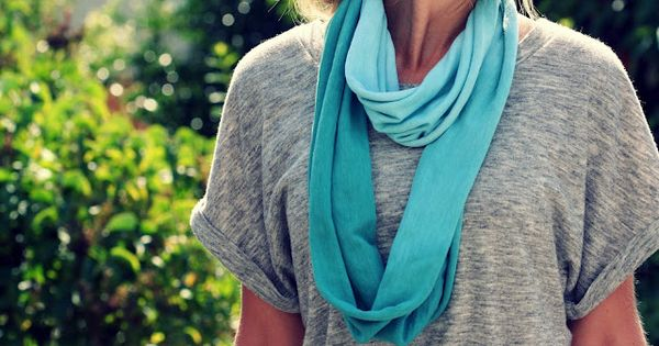 DIY Ombre Infinity by abitofsunshine Scarf DIY Scarf Ombre abitofsunshine