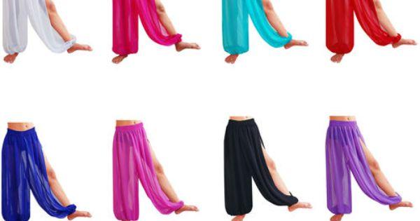 Women Student Harem Yoga Genie Trouser Belly Dance Pant Pantaloons27 Colors