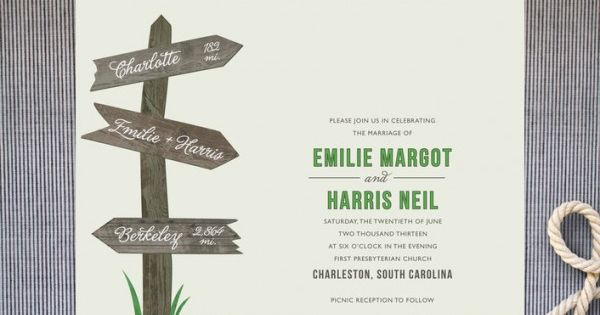 Love these cute wedding invitations | Wedding! | Pinterest ...