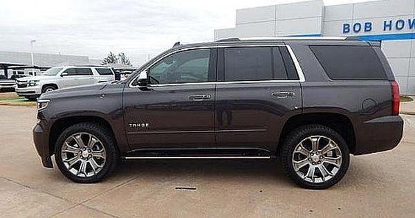 2017 Chevrolet Tahoe Premier Tungsten Metallic Oklahoma City Ok