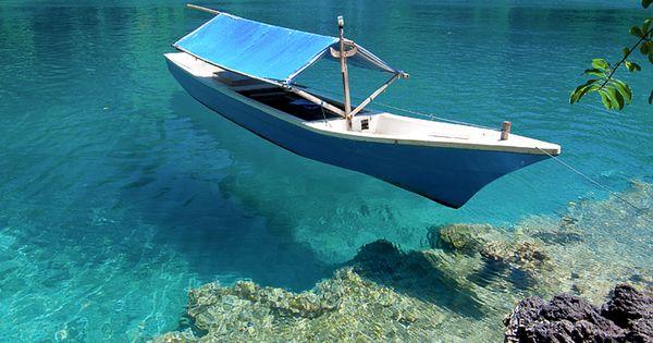 Sulamadaha Beach, Ternate Island, North Maluku, Indonesia.
