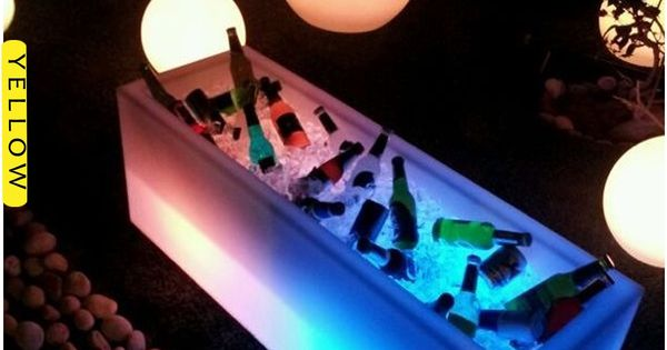 Led Furniture Keep Your Drinks Cool With The Ice Bucket