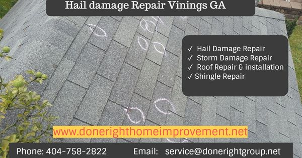 When A Storm Hits Contact Done Right Immediately To Inspect Evaluate And Repair The Damage To Your Roof We Ll Work Clos Roof Repair Roof Installation Repair