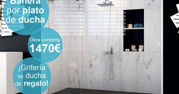 Diseño De Folleto Para Web Para Promocionar Nuestros Servicios De Cambio De Bañera Por Ducha Por Sólo 1470 Cambia Tu Vida Platos De Ducha Ducha Banera