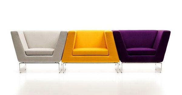 Trio de sillones modernos butacas pinterest sill n - Sillones pequenos modernos ...
