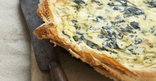 Sweet Paul's Leak, Pesto and Ricotta Pie Recipe