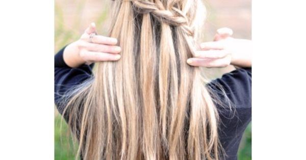Comment faire une tresse cascade d couvrez le dans notre tuto coiffure coiffure pinterest - Comment faire les tresses ...