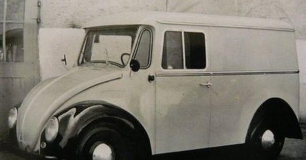 Rare Volkswagen Beetle as van.