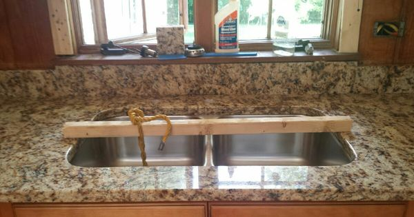 Giallo Napoli Granite Kitchen Countertop Install For The