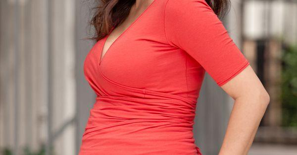 beautiful red top