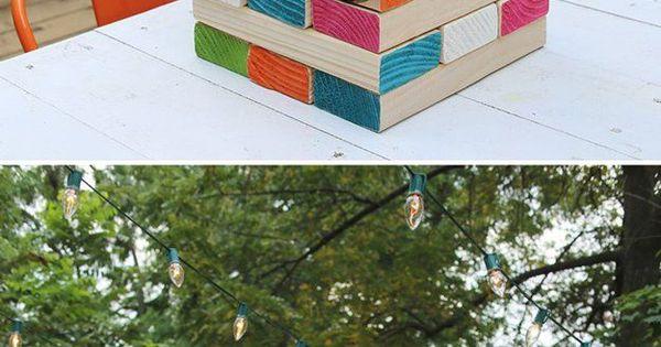 15 diy outdoor family games to play this summer giant jenga jenga