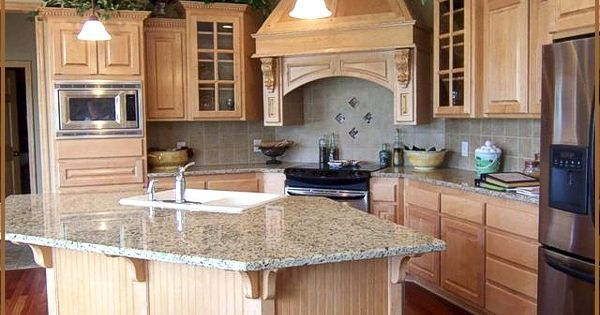 Island idea for small angled space new home ideas for Small space kitchen island ideas