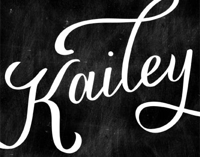 Kailey Font By Molly Jacques 40 Typography Pinterest