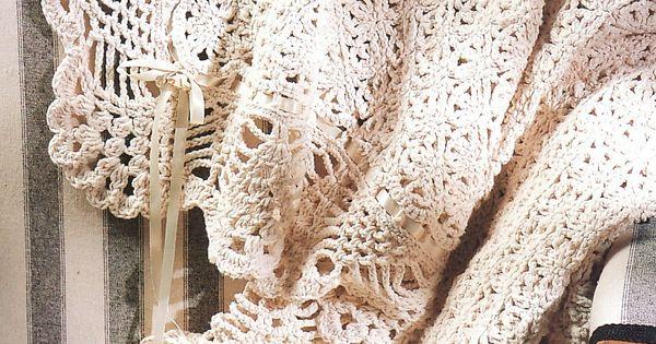 Not Free Victorian Elegance Afghan Crochet Pattern