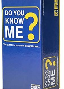 Amazon Com Do You Know Me Adult Party Game By What Do You Meme