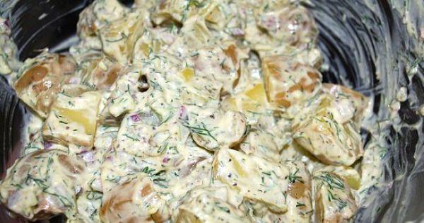 Dill Potato Salad   recipes   Pinterest   Dill Potato Salads, Dill ...