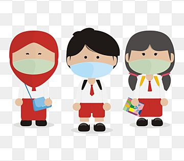 Kids Students In Uniform Wear Face Mask Kid Kids Student Png Transparent Image And Clipart For Free Download In 2021 Graphic Design Background Templates Kids Clipart Student Clipart