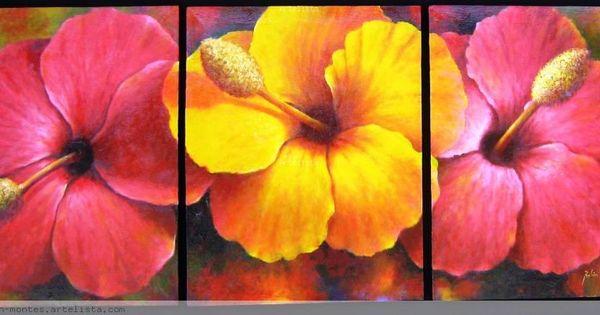 cuadros de flores buscar con google arte pinterest diy wall art pintura and paintings