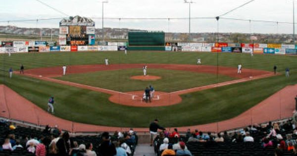 Click On Image To See Full Size View Of Security Service Field Colorado Springs Colorado Skysox Baseball Park Baseball Stadium Colorado Rockies