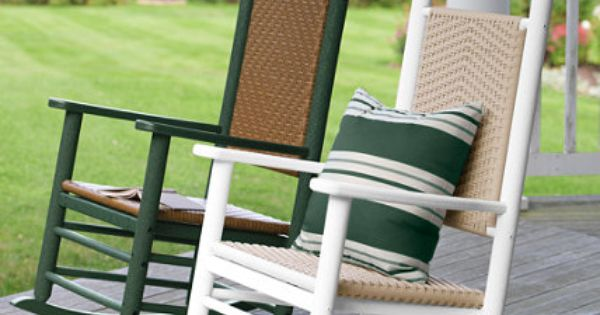 All Weather Presidential Rocker Seating at L L Bean
