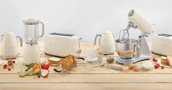 Smeg u002750 White small appliances I piccoli di casa Smeg - philips cucina küchenmaschine