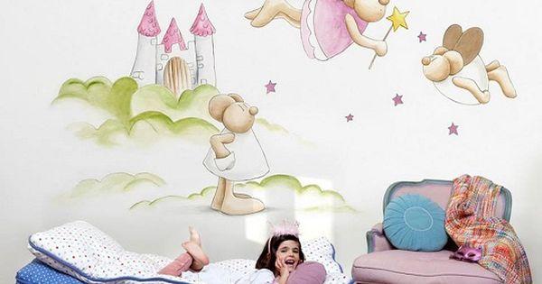 Murales para ni os de coordonn - Papeles pintados para bebes ...