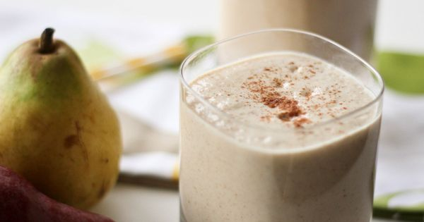 Pear, Oat & Ginger Smoothie | Eating into Wellness | Pinterest ...