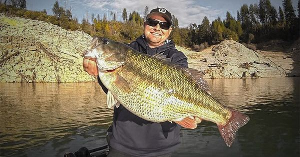Record california spotted bass caught fishing for California bass fishing