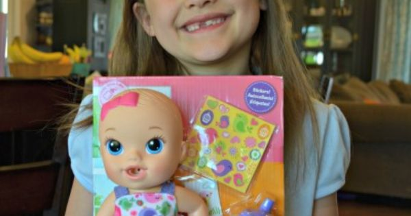 baby alive doll review toy review gift ideas for little girls 7 year old toy review. Black Bedroom Furniture Sets. Home Design Ideas