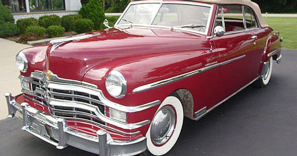 1949 chrysler windsor convertible image 1 of 26 cars for 1941 chrysler royal 3 window coupe