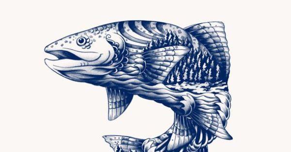 blue goose pure foods by flavio carvalho via behance